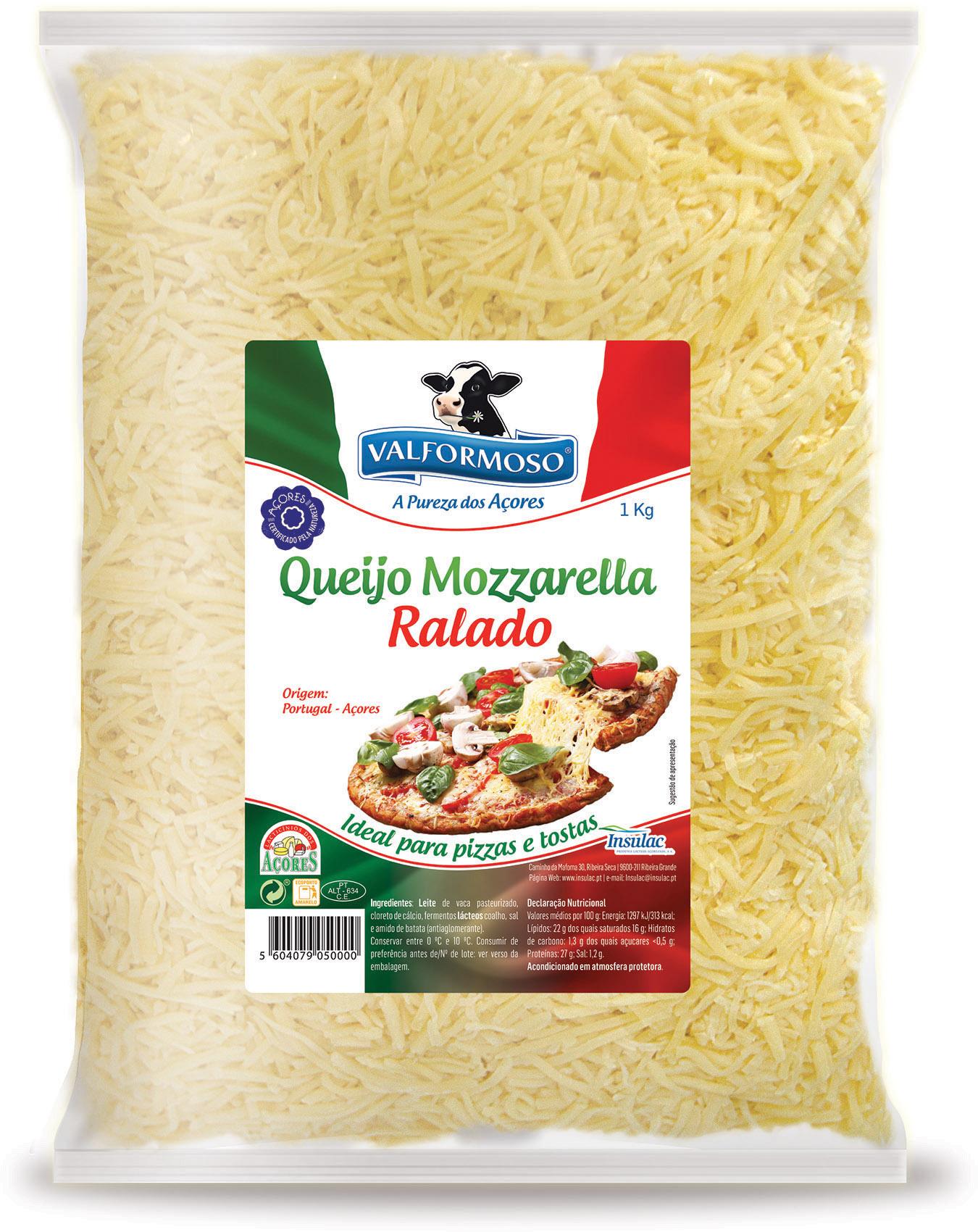 Queijo Mozzarella Ralado 1Kg