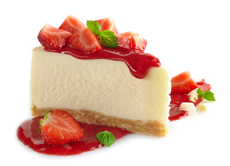cheesecake com frutos vermelhos